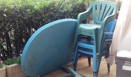 Regalo tavolo e sedie giardino castel gandolfo for Cerco tavolo in regalo