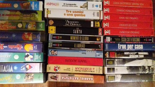 vhs in regalo